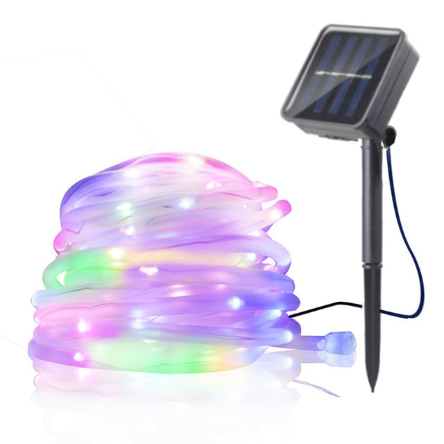 Solar Powered LED Fairy Light Chain Indoor/Outdoor