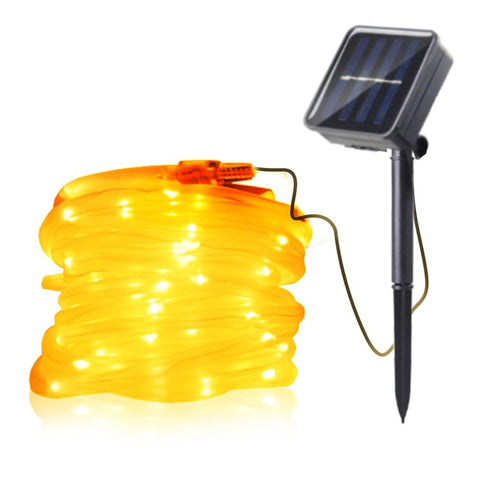 Image of Solar Powered LED Fairy Light Chain Indoor/Outdoor