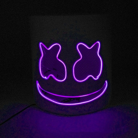 DJ Marshmello LED Helmet Mask