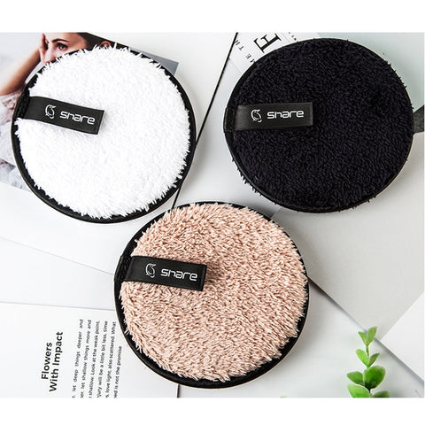 3pcs AMAZING Microfiber Makeup Removing Pads