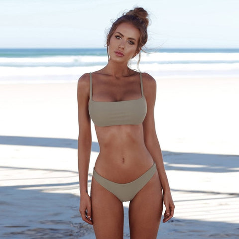 Cute Push Up Bikini Swimwear