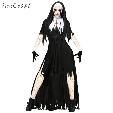 Image of Scary Hot Nun Two Piece Costume