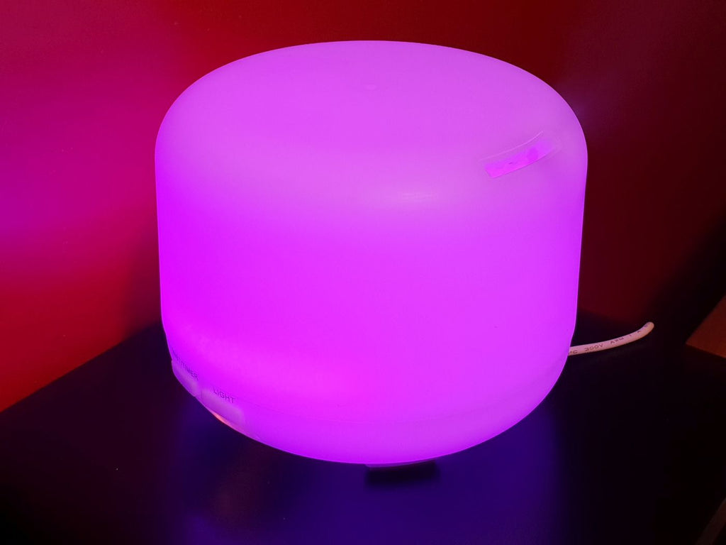 Aroma humidifier with different colours - ERITREA CONNECT