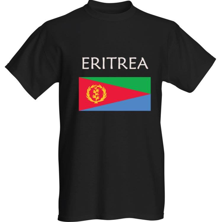 ERITREA T-shirt - ERITREA CONNECT