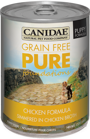 Canidae Grain Free PURE Foundations Canned Puppy Formula Dog Food