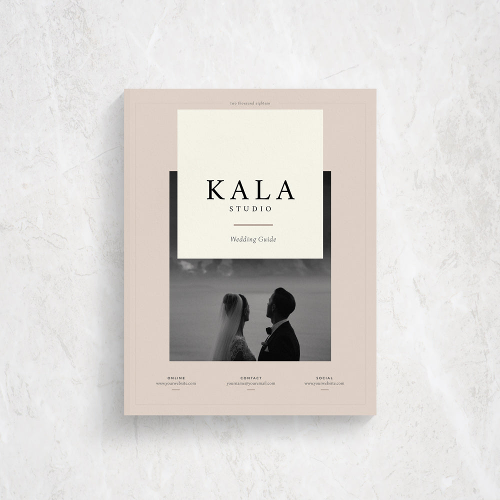 Client Guide Template for Photographers | Kala
