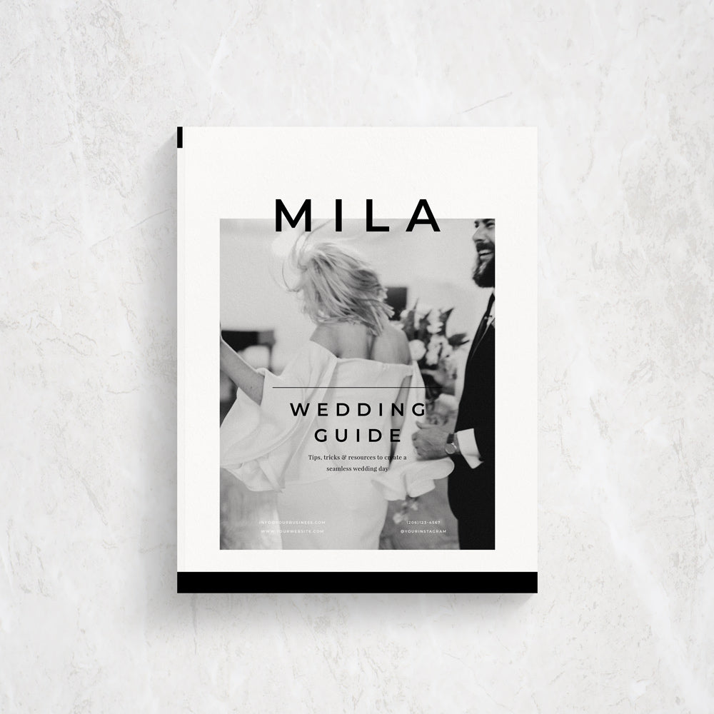Client Guide Template for Photographers | Mila