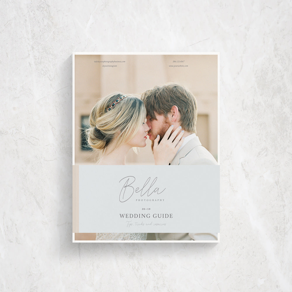 Client Guide Template for Photographers | Bella