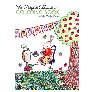 *Printable* The Magical Garden Coloring Book