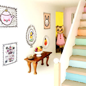 DIY Dollhouse Printable Modern Wall Art