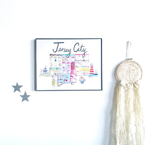 Jersey City Wall Art Print
