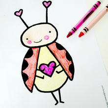 Load image into Gallery viewer, *Printable* Cute Characters Coloring Book