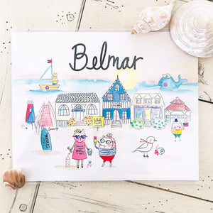 Belmar Art Print by Linzer Lane