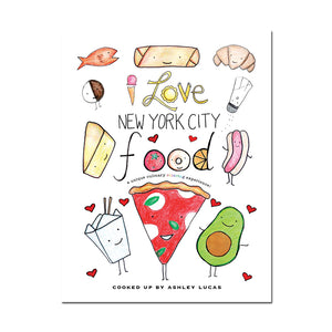 *Printable* I Love NYC Food Coloring Book