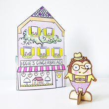 Load image into Gallery viewer, *Printable* Iggie's Gingerbread House