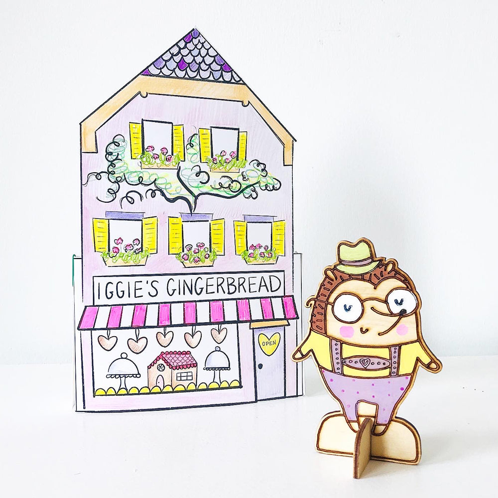 *Printable* Iggie's Gingerbread House