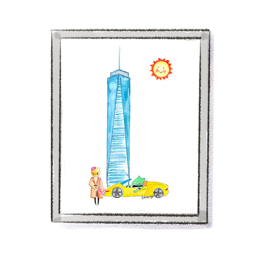 Freedom Tower New York City Art Print