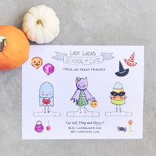 Load image into Gallery viewer, Trick or Treat Paper Dolls DIY by Baby Lucas
