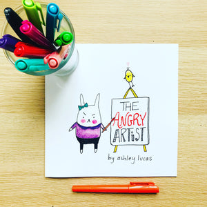 The Angry Artist Picture Book by Ashley Lucas