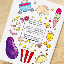 Load image into Gallery viewer, I Love New York City Foods Coloring Book by Baby Lucas
