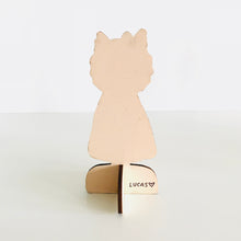 Load image into Gallery viewer, Frau Lina the Dog Wooden Doll by Baby Lucas