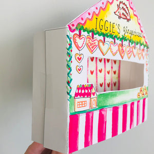 *Printable* Miniature Gingerbread Stand