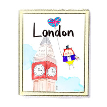 Load image into Gallery viewer, London Art Print by Linzer Lane