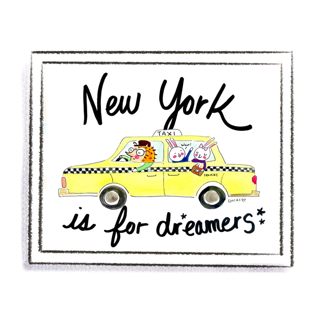 New York is for Dreamers by Linzer Lane