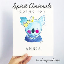 Load image into Gallery viewer, Spirit Animal Art Prints by Linzer Lane
