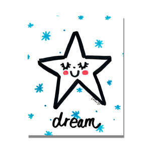 Dream Star Art Print by Baby Lucas