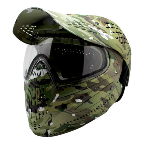 FULL FACE MASK & HELMET COMBO MULTICAM