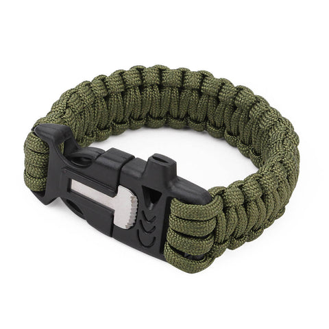 PARACORD SURVIVAL WRIST BAND