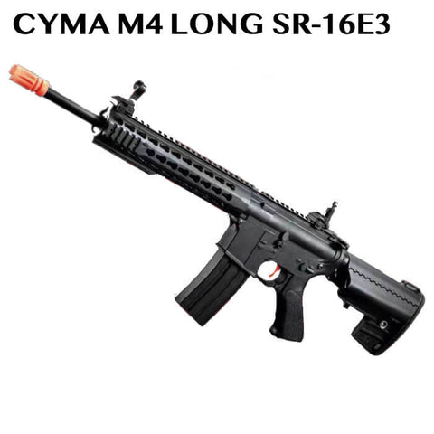 CYMA M4 LONG SR-16E3 RIFLE GEL BLASTER