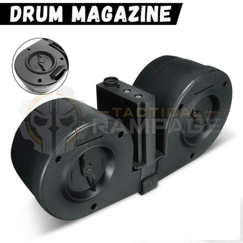 DOUBLE DRUM MAGAZINES