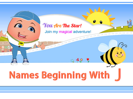 "Humpty's ""Off The Wall"" Nursery Rhymes Names Beginning with J"