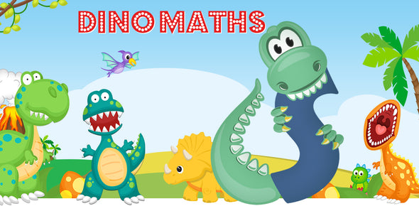Dino-Math Times Table Activity Packs (Names beginning with S)