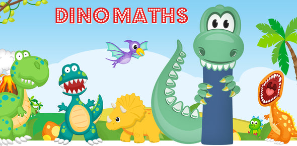 Dino-Math Times Table Activity Packs (Names beginning with I)
