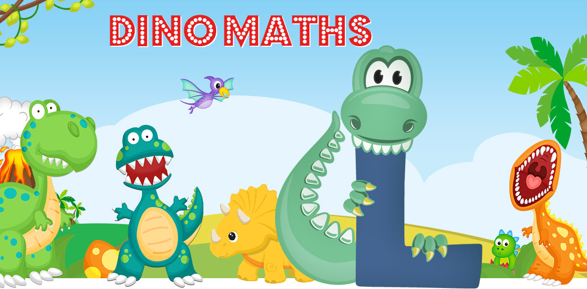 Dino-Math Times Table Activity Packs (Names beginning with L)