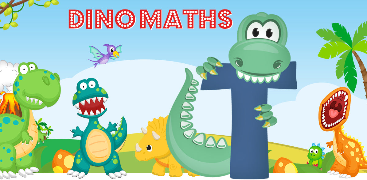 Dino-Math Times Table Activity Packs (Names beginning with T)