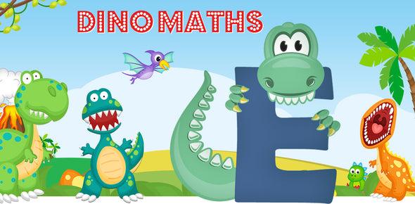 Dino-Math Times Table Activity Packs (Names beginning with E)