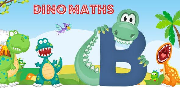 Dino-Math Times Table Activity Packs (Names beginning with B)