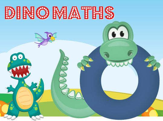 Dino-Math Times Table Activity Packs (Names beginning with O)