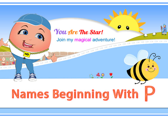 "Humpty's ""Off The Wall"" Nursery Rhymes Names Beginning with P"