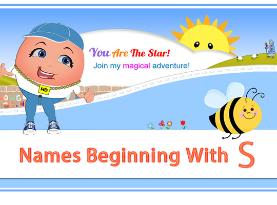 "Humpty's ""Off The Wall"" Nursery Rhymes Names Beginning with S"