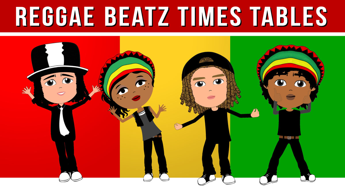 Reggae Beatz Times Table Video Downloads