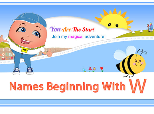 "Humpty's ""Off The Wall"" Nursery Rhymes Names Beginning with W"