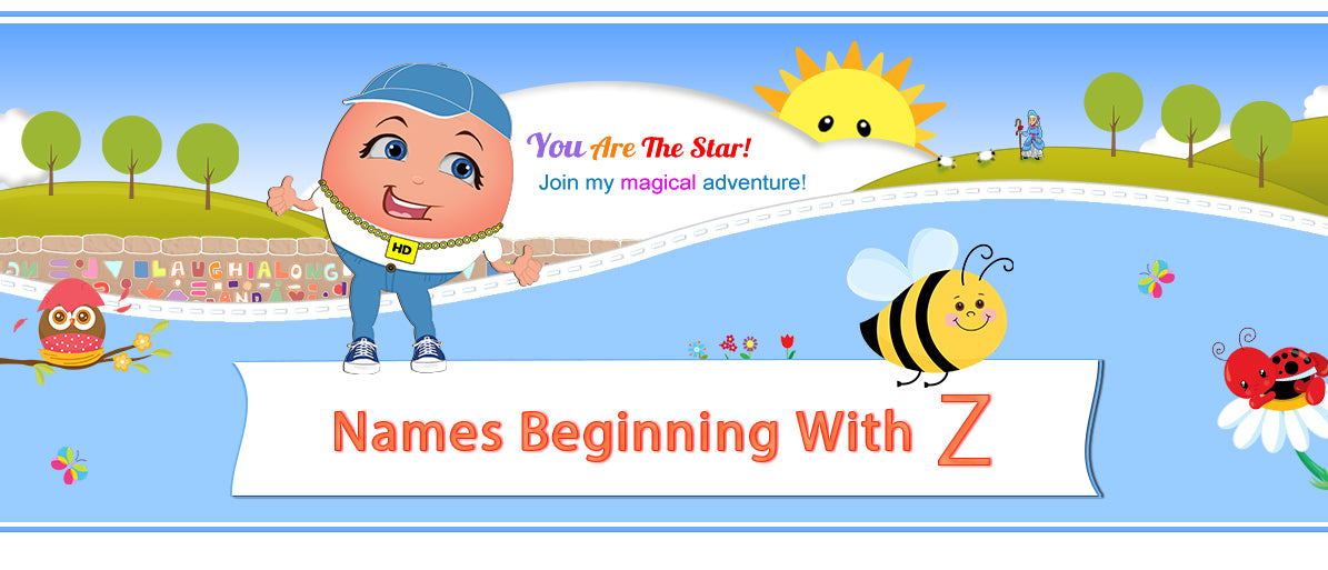 "Humpty's ""Off The Wall"" Nursery Rhymes Names Beginning with Z"