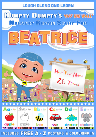 Personalised Nursery Rhyme Story for Beatrice