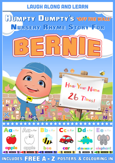 Personalised Nursery Rhyme Story for Bernie
