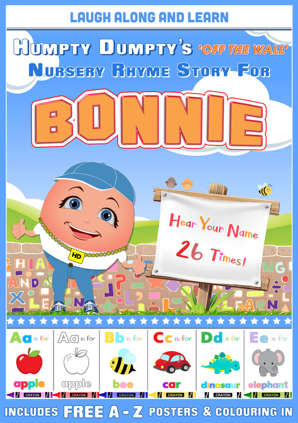 Personalised Nursery Rhyme Story for Bonnie